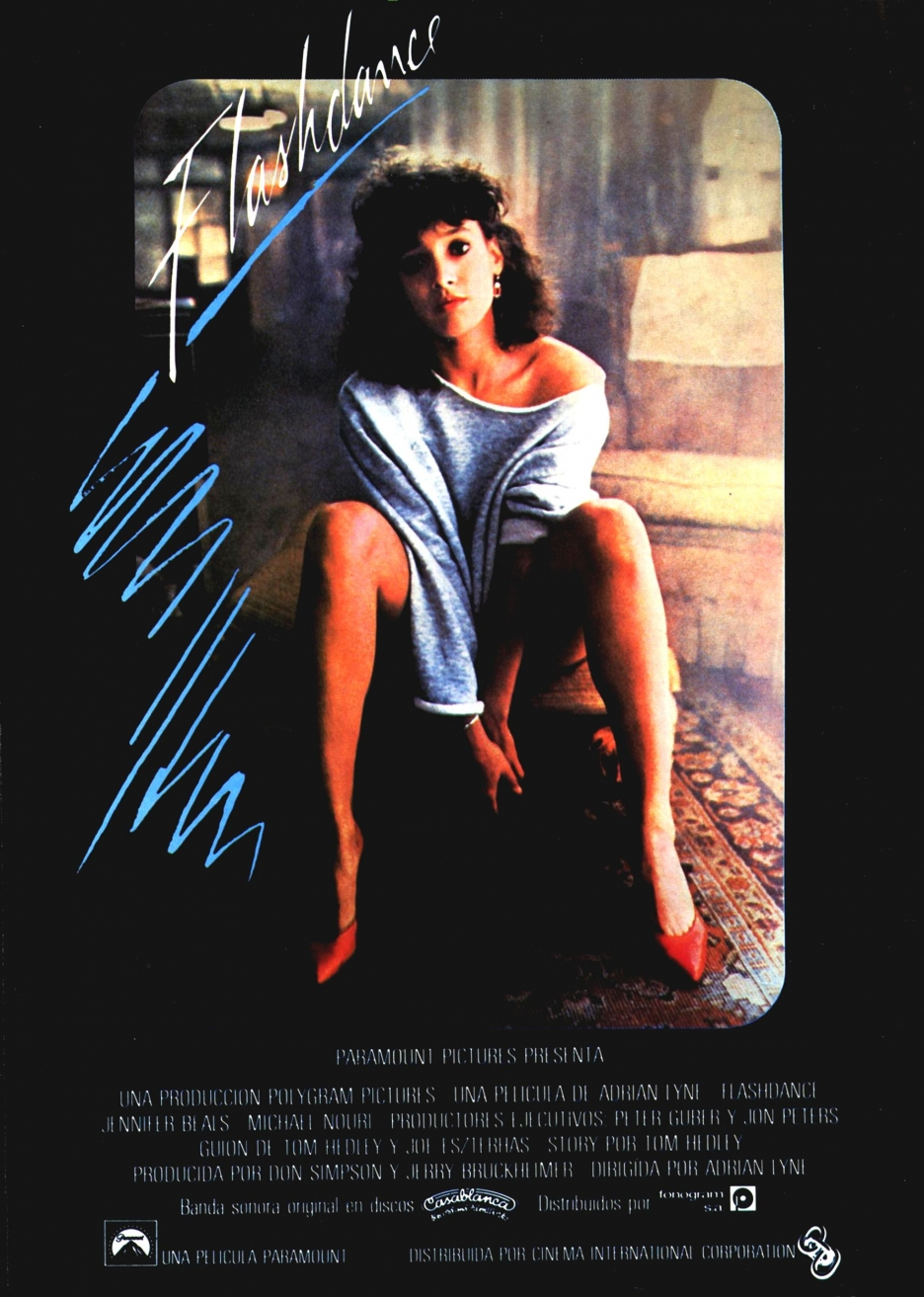 Bad Cinema: Flashdance (Dir: Adrian Lyne, 1983) – SERVING ...